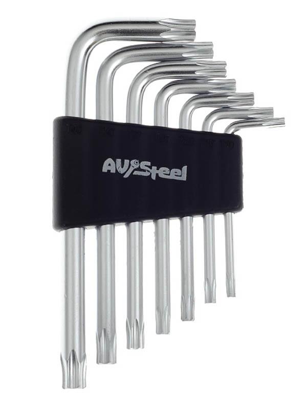 Набор ключей AV Steel Torx AV-367107