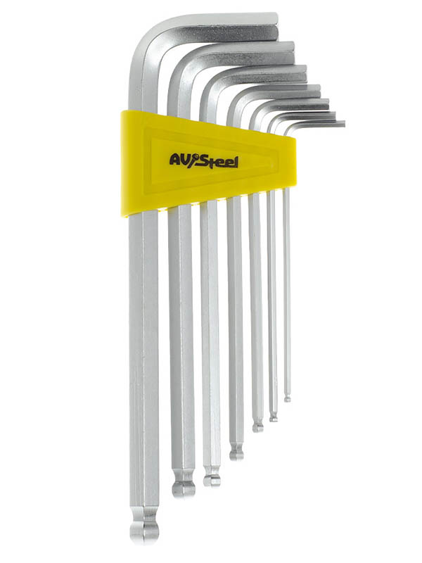Набор ключей AV Steel Hex AV-365107