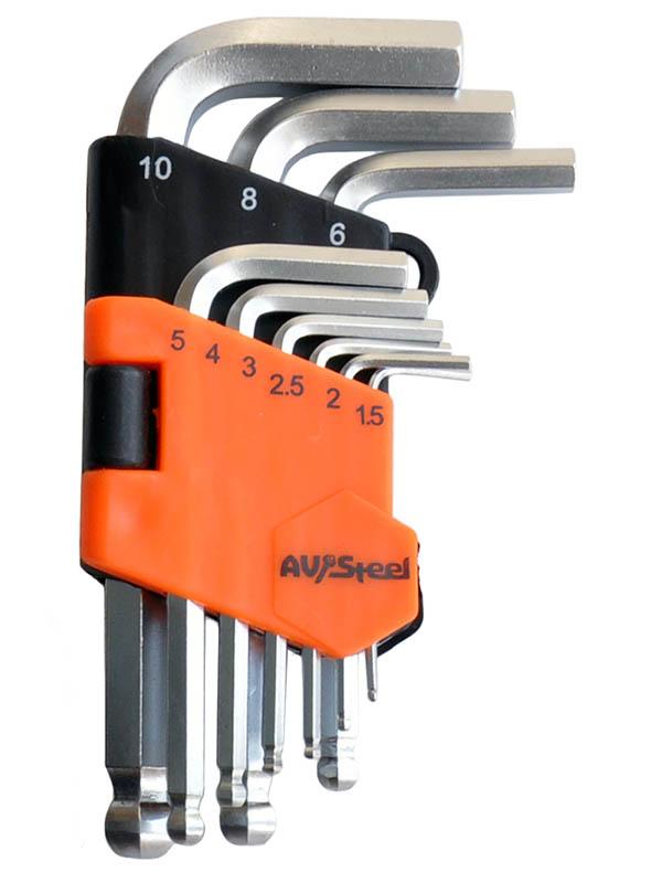 Набор ключей AV Steel Hex AV-364109
