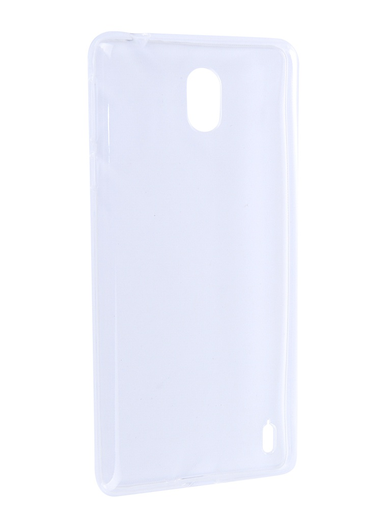 Аксессуар Чехол Zibelino для Nokia 1 Plus 2019 Ultra Thin Case Transparent ZUTC-NOK-1-PLS-WHT