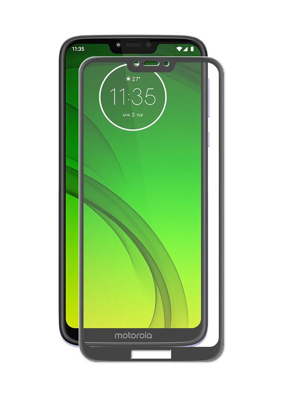 Защитное стекло Zibelino TG для Motorola Moto G7 Play 5D Black ZTG-5D-MOT-G7-PLY-BLK