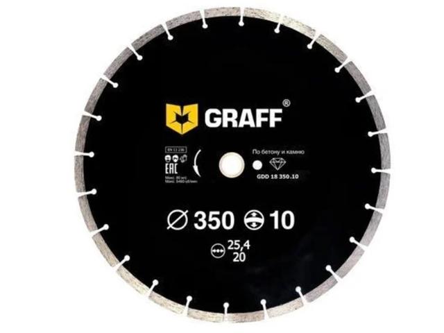 Диск 350x3.4x25.4 GRAFF GDD 18 350.10