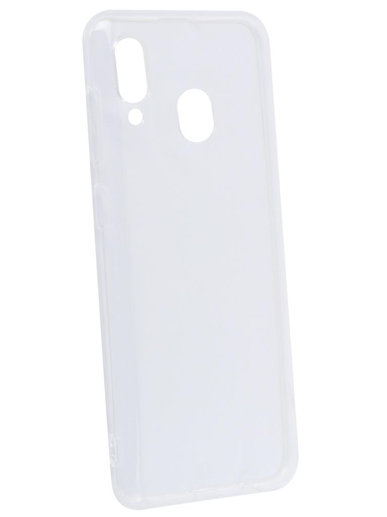 Аксессуар Чехол Gurdini для Samsung Galaxy A30 Silicone Ultra Twin 0.3m Transparent 908467 все цены