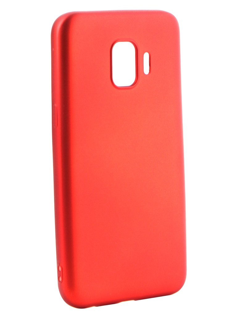 Аксессуар Чехол Gurdini для Samsung Galaxy J2 Core J260 Soft Touch Silicone Red 908371 аксессуар чехол samsung galaxy j3 2017 j330 gurdini soft touch silicone black
