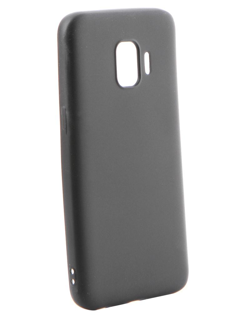Аксессуар Чехол Gurdini для Samsung Galaxy J2 Core J260 Soft Touch Silicone Black 908369 аксессуар чехол samsung galaxy j3 2017 j330 gurdini soft touch silicone black