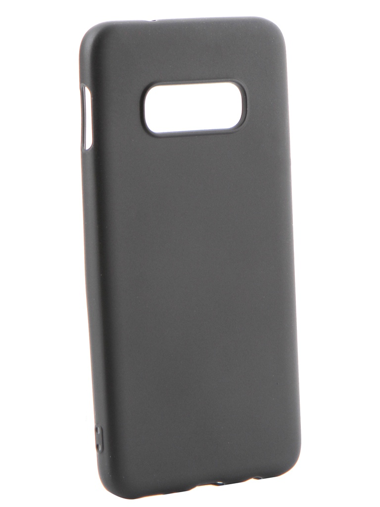 Аксессуар Чехол Gurdini для Samsung Galaxy S10e Soft Touch Silicone Black 908368 аксессуар чехол samsung galaxy j3 2017 j330 gurdini soft touch silicone black