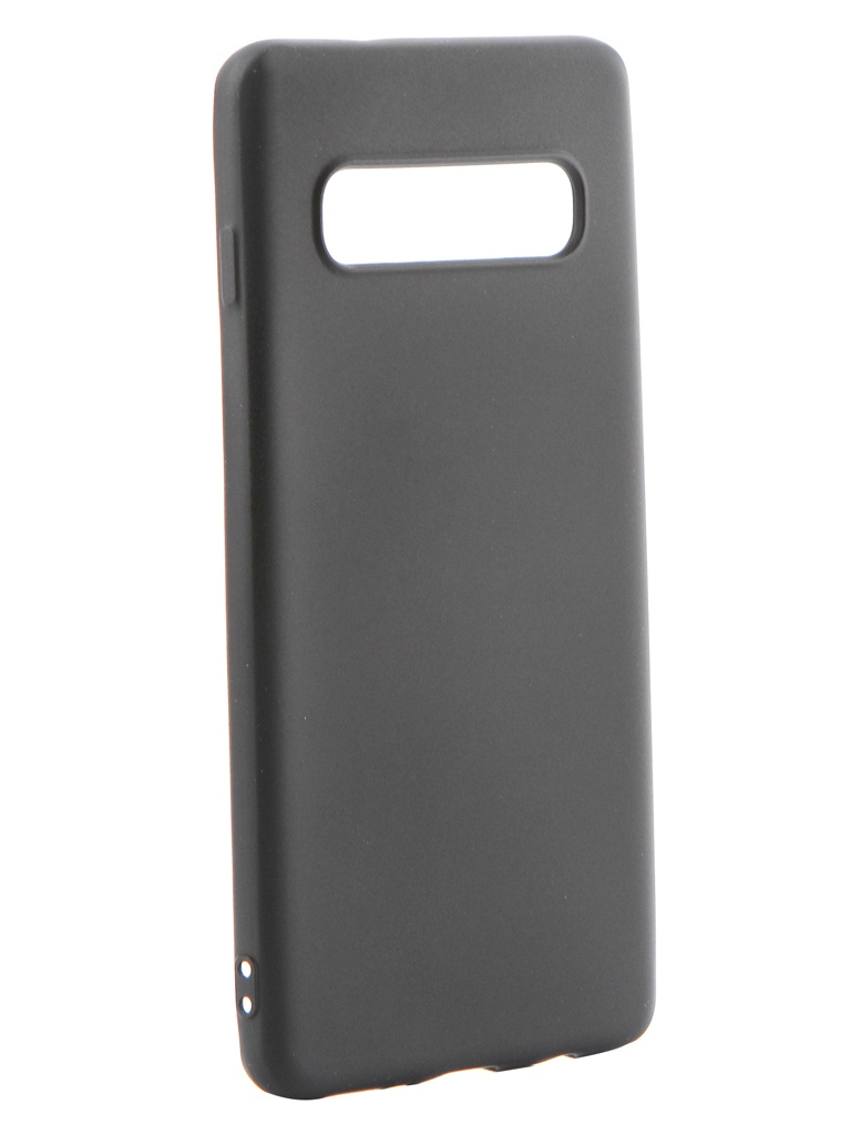 Аксессуар Чехол Gurdini для Samsung Galaxy S10 Soft Touch Silicone Black 908366 аксессуар чехол samsung galaxy j3 2017 j330 gurdini soft touch silicone black