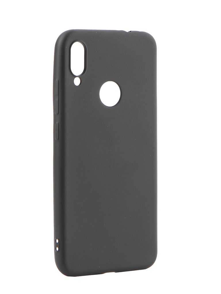 цена на Аксессуар Чехол Gurdini для Xiaomi Redmi Note 7 Soft Touch Silicone Black 908372