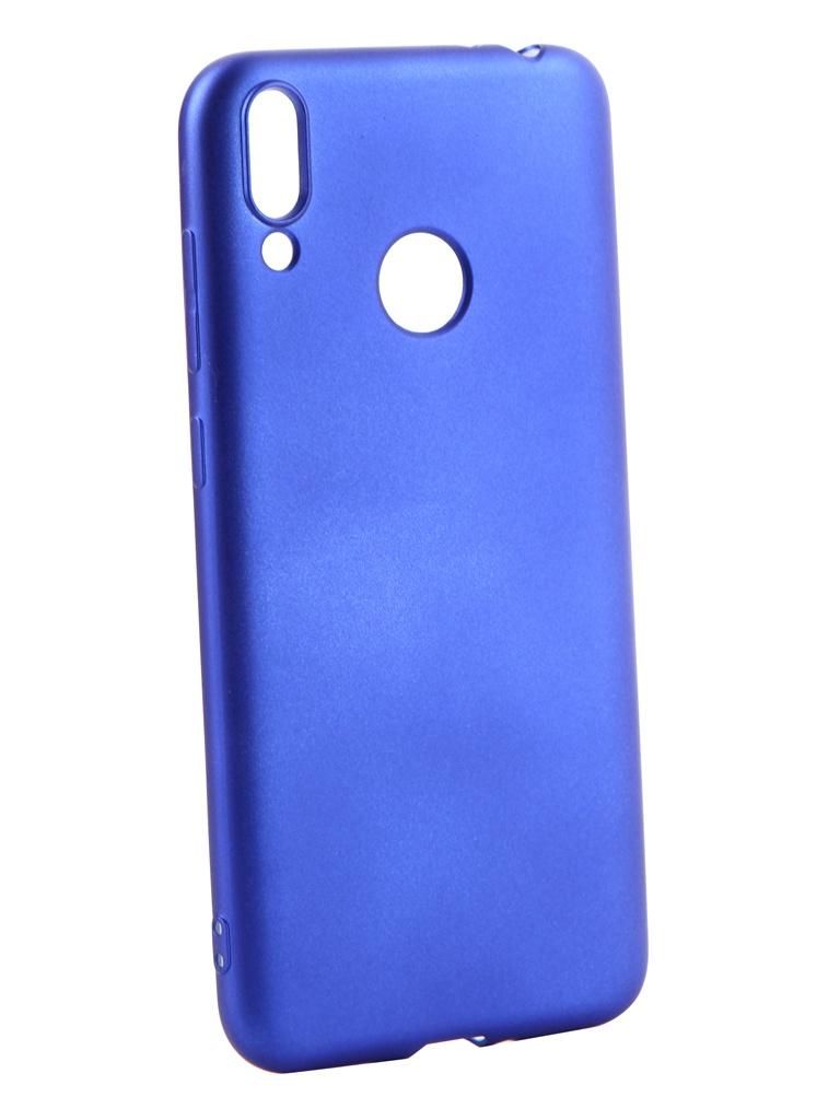 Аксессуар Чехол Gurdini для Honor 8С Soft Touch Silicone Blue 908387 аксессуар чехол для xiaomi redmi 6x mi a2 gurdini soft touch silicone blue 906609