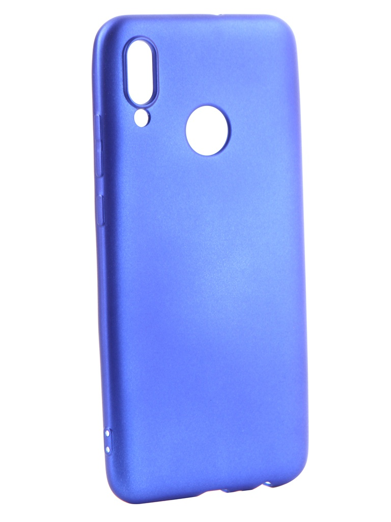 Аксессуар Чехол Gurdini для Huawei P Smart 2019 Soft Touch Silicone Blue 908376 аксессуар чехол для xiaomi redmi 6x mi a2 gurdini soft touch silicone blue 906609