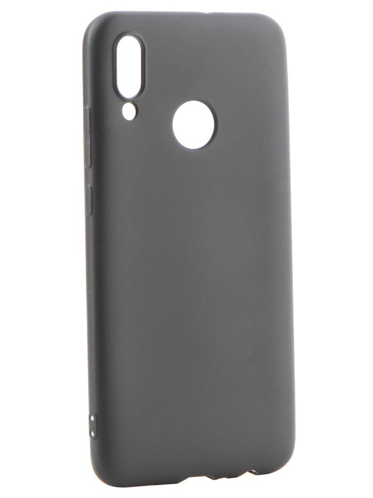 Аксессуар Чехол Gurdini для Huawei P Smart 2019 Soft Touch Silicone Black 908375 апполо бинт сетчато трубчатый 4