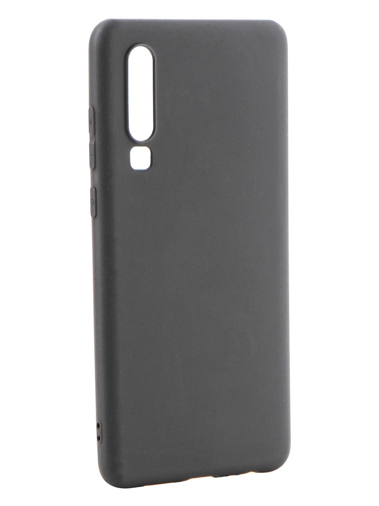 Аксессуар Чехол Gurdini для Huawei P30 High-Tech Silicone Matt Black 908353 аксессуар