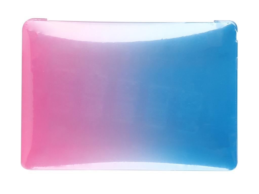 Аксессуар Чехол Gurdini для APPLE Macbook Air 13 New 2018 Plastic с градиентом стиль 1 908457 аксессуар чехол gurdini для apple macbook pro retina 13 2016 year with touchbar plastic с градиентом стиль 2 908460