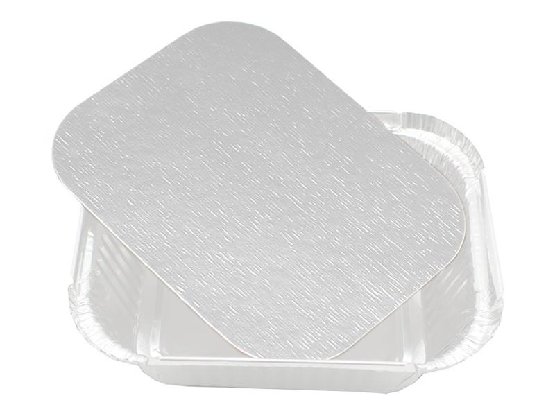 Крышка для формы из фольги Ecovilka 250ml 123x98x34mm 100шт КФАФ250L1