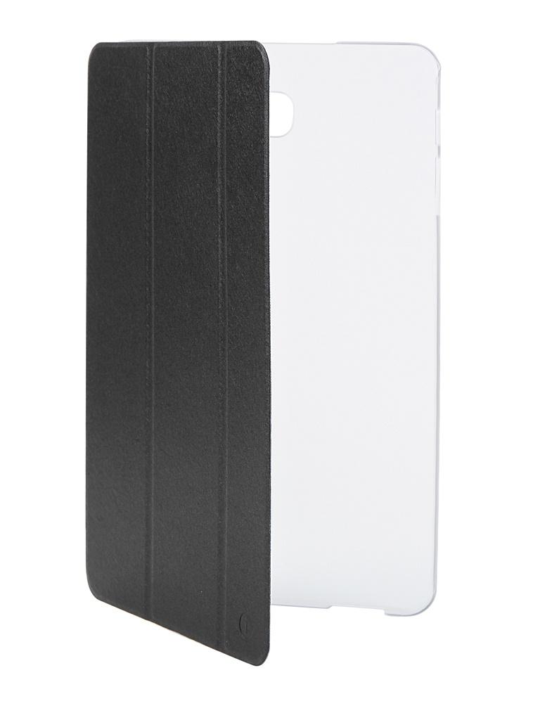 Аксессуар Чехол iNeez для Samsung Galaxy Tab A 10.1 T580 / T585 Black 908230 аксессуар чехол samsung j3 2017 j330f zibelino clear view black zcv sam j330 blk