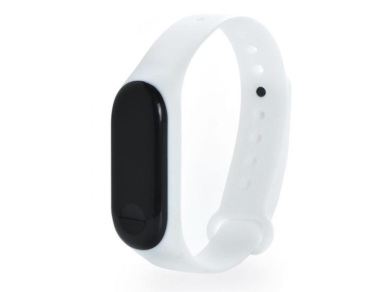 Aксессуар Ремешок Gurdini Silicone для Xiaomi Mi Band 4 / Mi Band 3 White 908145 цены онлайн