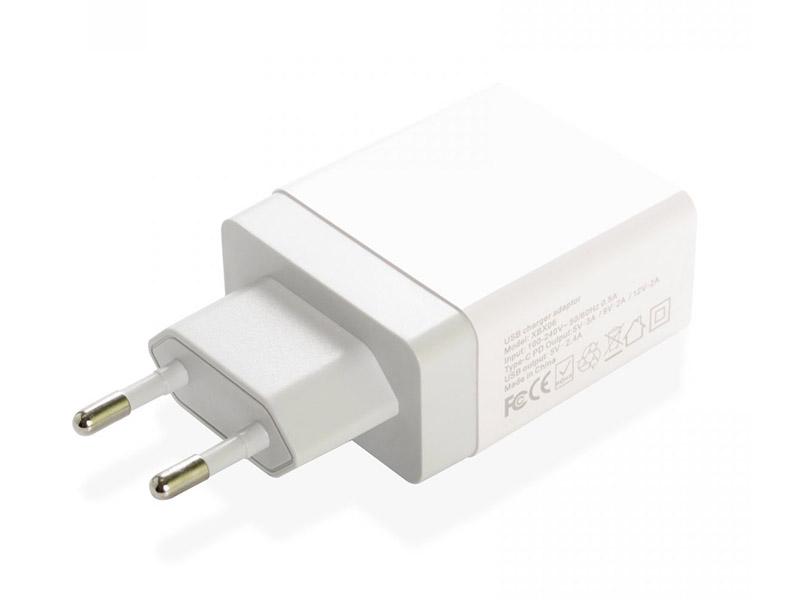 Зарядное устройство iNeez USB-C PD Smart Charge 24W White 908165