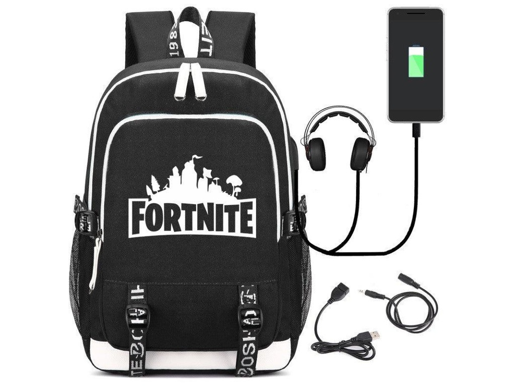 Рюкзак Fortnite USB 56543 2019 new fortnite 100