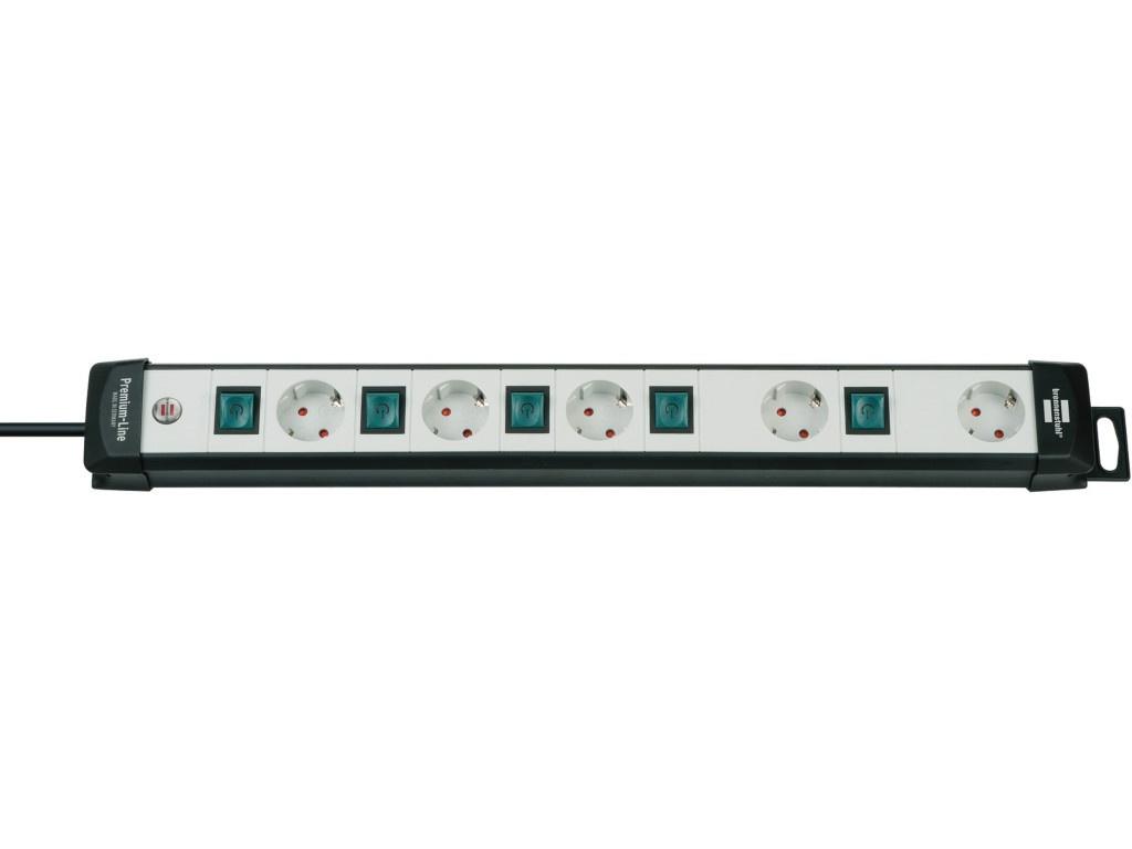 Удлинитель Brennenstuhl Premium-Line 5 Sockets 3m Black-White 1951550600