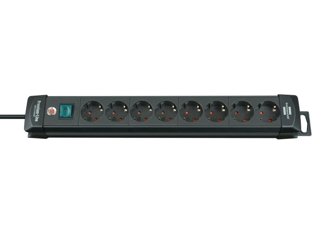 Удлинитель Brennenstuhl Premium-Line 8 Sockets 3m Black 1951180100
