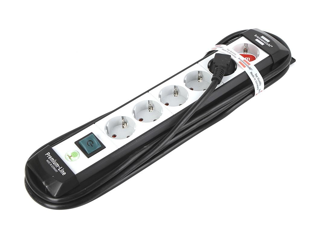 все цены на Удлинитель Brennenstuhl Premium-Line 6 Sockets 3m Grey 1756150016 онлайн