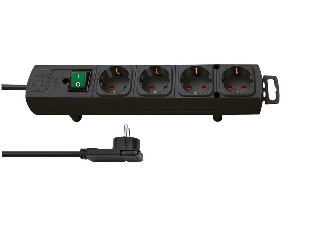 Удлинитель Brennenstuhl Comfort Line 4 Sockets 2m Black 1153100100