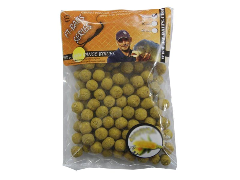 Насадка FT-Baits Series Бойлы Ананас 10mm 100g FTB10109