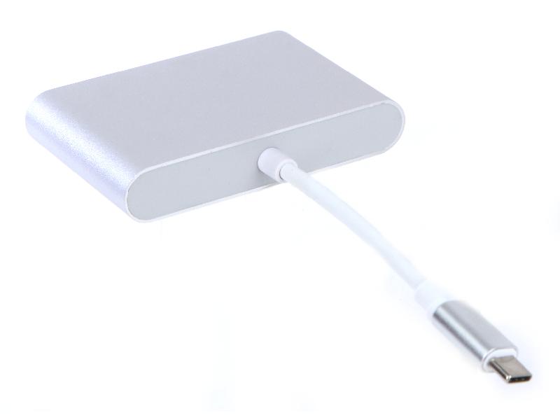 Аксессуар Palmexx USBC - HDMI - VGA - USBC Silver PX/HUB USBC-HDMI-VGA-USBC аксессуар palmexx usbc hdmi vga usbc silver px hub usbc hdmi vga usbc