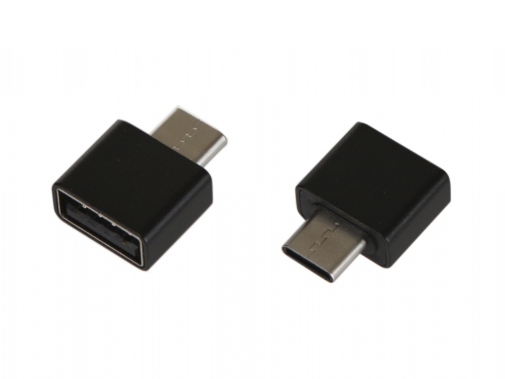 Аксессуар Baseus Exquisite Type-C Male - USB Female Adapter Converter Black CATJQ-B01