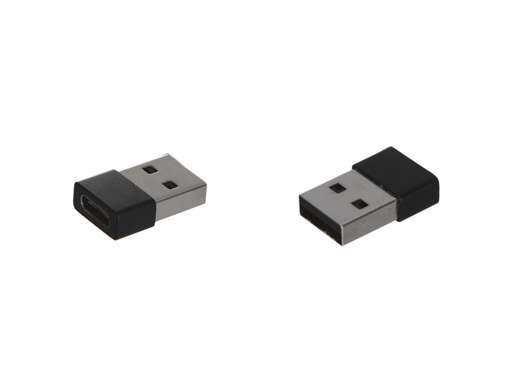 Аксессуар Baseus Exquisite USB Male - Type-C Female Adapter Converter Black CATJQ-A01