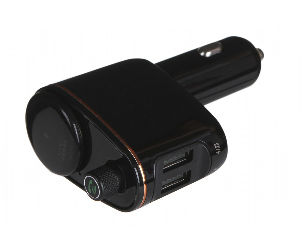 FM-Трансмиттер Baseus Locomotive Bluetooth MP3 Vehicle Charger Black CCALL-RH01