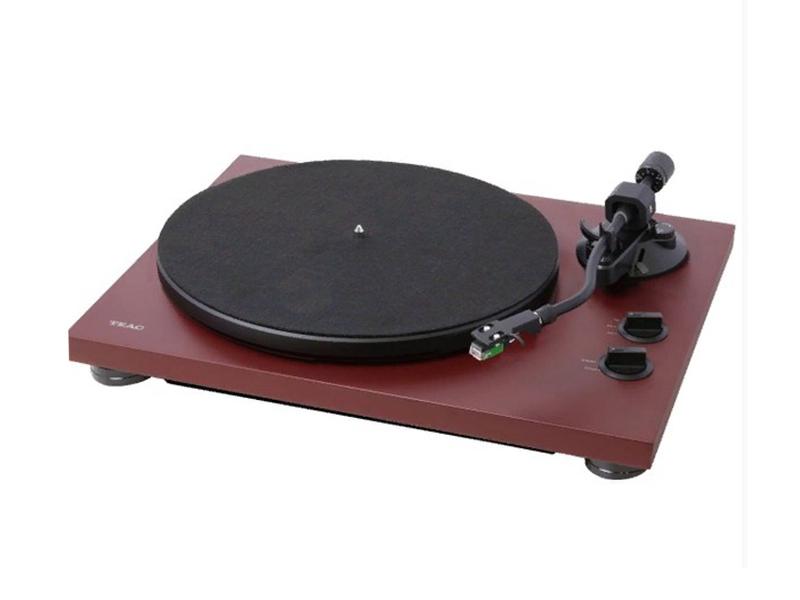 Проигрыватель виниловых дисков TEAC TN-400S Red цена