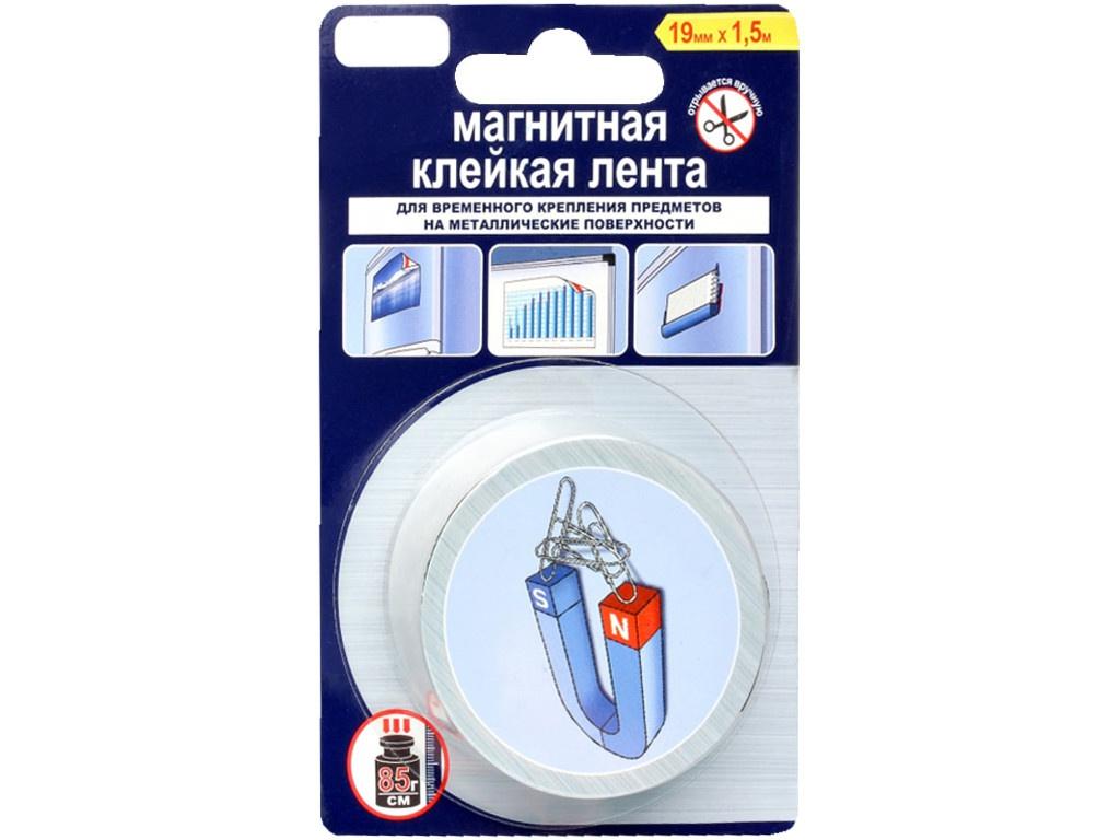 Клейкая лента Unibob Магнитная 19mm x 1.5m 49767