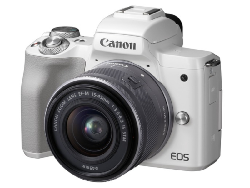 Фотоаппарат Canon EOS M50 Kit EF-M 15-45mm f/3.5-6.3 IS STM White 2681C012