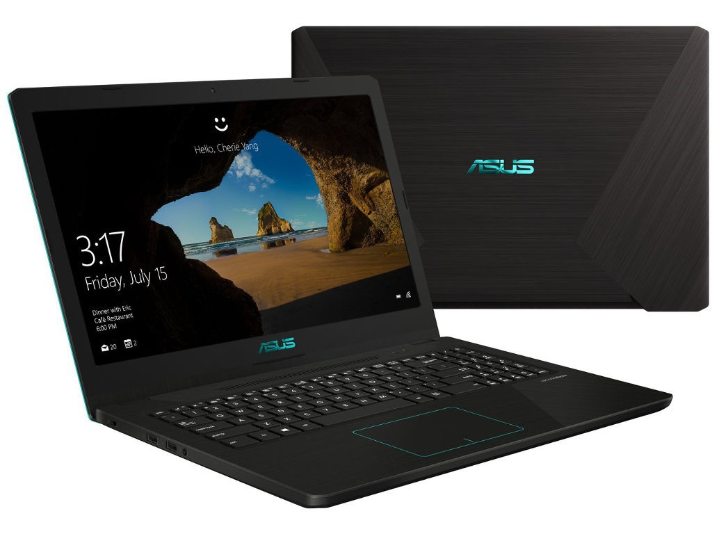 Ноутбук ASUS VivoBook X570UD-E4383T 90NB0HS1-M05250 (Intel Core i7-8550U 1.8GHz/16384Mb/1000Gb + 256Gb SSD/nVidia GeForce GTX 1050 2048Mb/Wi-Fi/Bluetooth/Cam/15.6/1920x1080/Windows 10 64-bit)