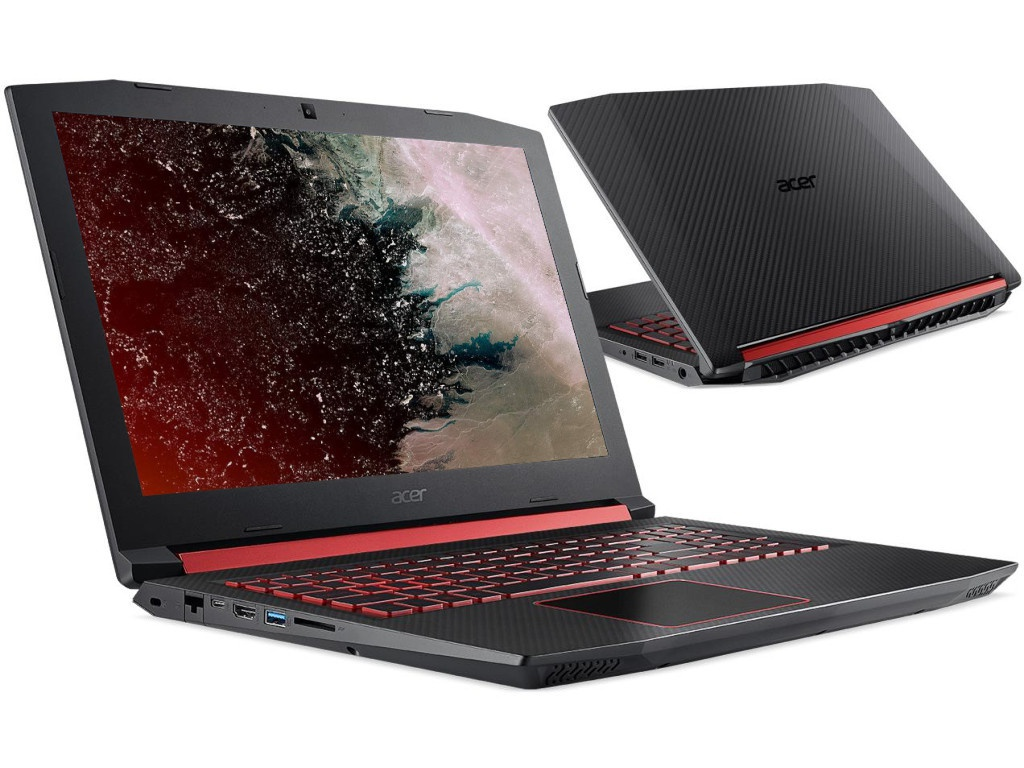 Ноутбук Acer Nitro 5 AN515-52-77YX NH.Q3XER.019 (Intel Core i7-8750H 2.2GHz/16384Mb/1000Gb + 512Gb SSD/nVidia GeForce GTX 1060 6144Mb/Wi-Fi/Bluetooth/Cam/15.6/1920x1080/Linux) ноутбук acer nitro 5 an515 52 70lk nh q3xer 008 intel core i7 8750h 2 2ghz 16384mb 1000gb 128gb ssd nvidia geforce gtx 1060 6144mb wi fi bluetooth cam 15 6 1920x1080 windows 10 64 bit