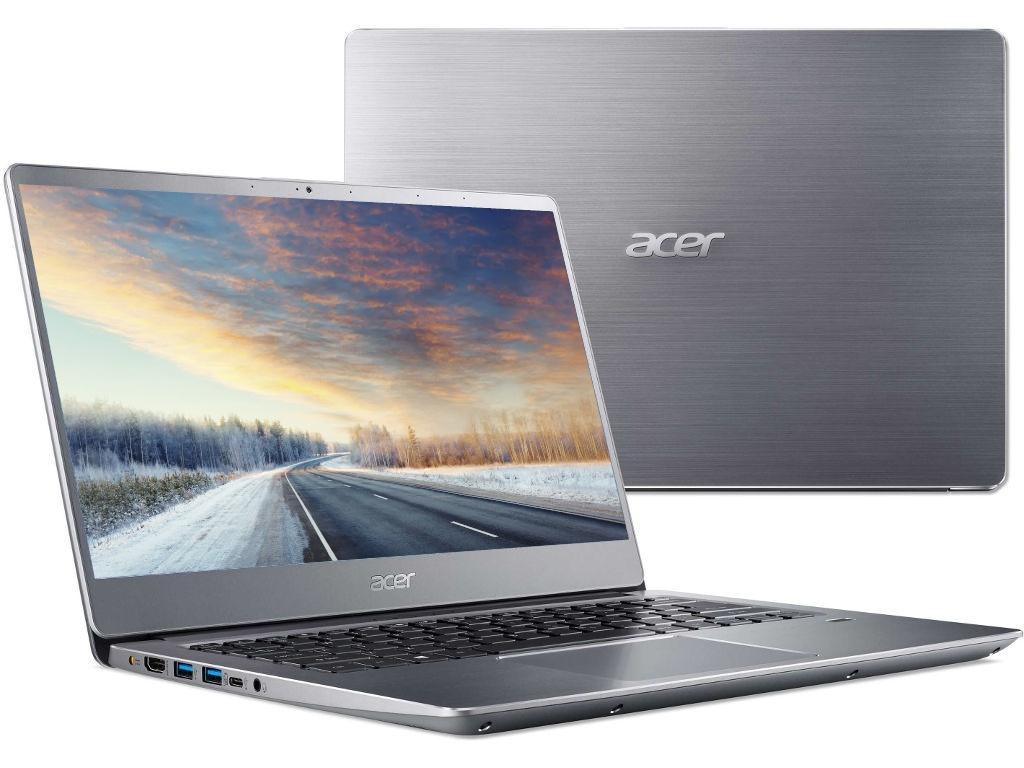 Ноутбук Acer Swift 3 SF314-56G-76FM NX.H4LER.003 (Intel Core i7-8565U 1.8GHz/8192Mb/512Gb SSD/nVidia GeForce MX150 2048Mb/Wi-Fi/Bluetooth/Cam/14.0/1920x1080/Linux) цена