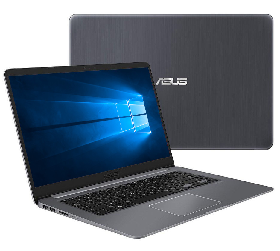 Ноутбук ASUS VivoBook K510UN-BQ502T Black 90NB0GS5-M09130 (Intel Core i5-8250U 1.6 GHz/8192Mb/1000Gb+128Gb SSD/nVidia GeForce MX150 2048Mb/Wi-Fi/Bluetooth/Cam/15.6/1920x1080/Windows 10 Home 64-bit) цена в Москве и Питере