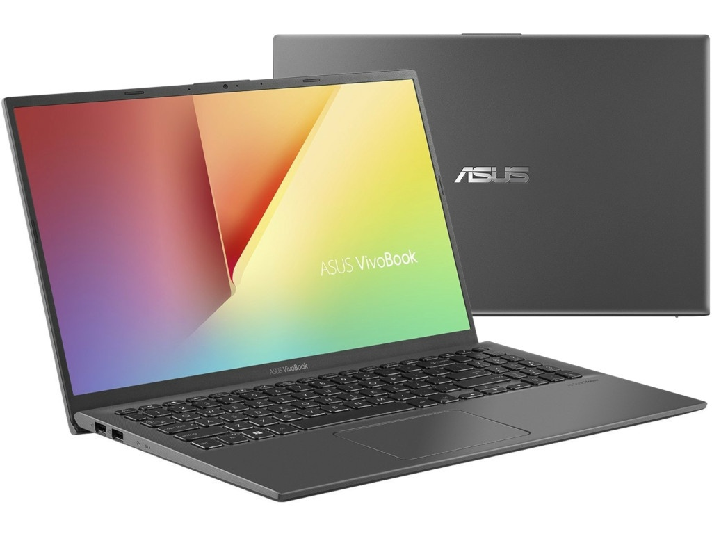 Ноутбук ASUS VivoBook X512UF-BQ116T Grey 90NB0KA3-M02250 (Intel Core i5-8250U 1.6 GHz/8192Mb/256Gb SSD/nVidia GeForce MX130 2048Mb/Wi-Fi/Bluetooth/Cam/15.6/1920x1080/Windows 10 Home 64-bit)