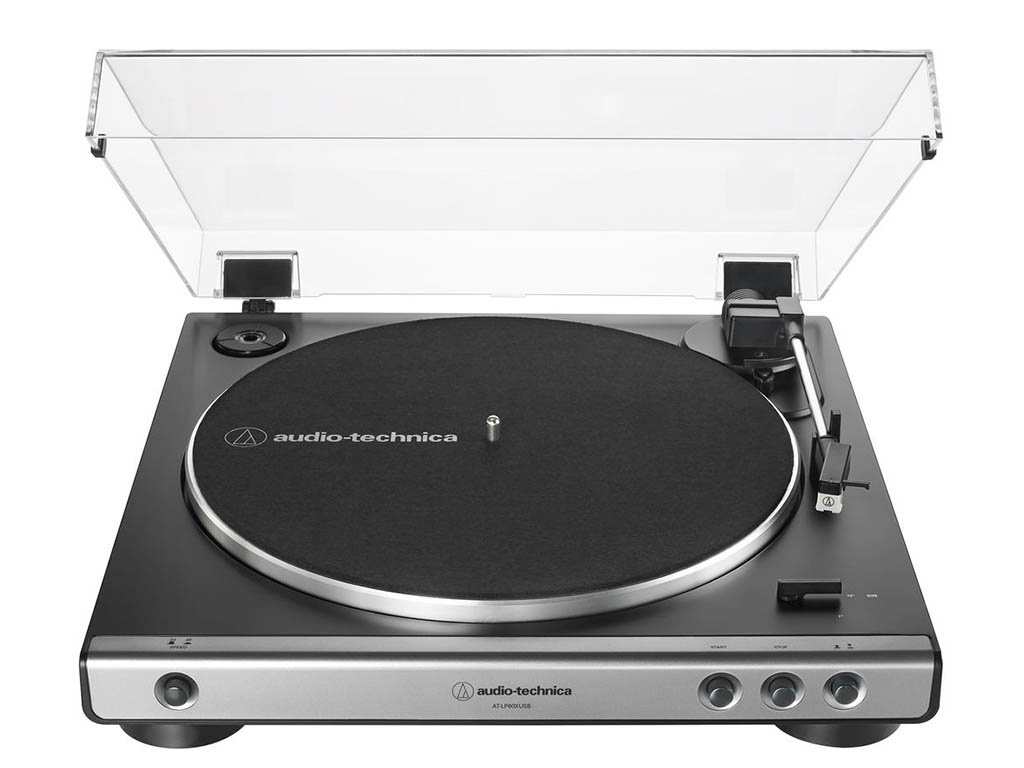 Проигрыватель Audio-Technica AT-LP60X Gun Metal AT-LP60XUSBGM — AT-LP60X