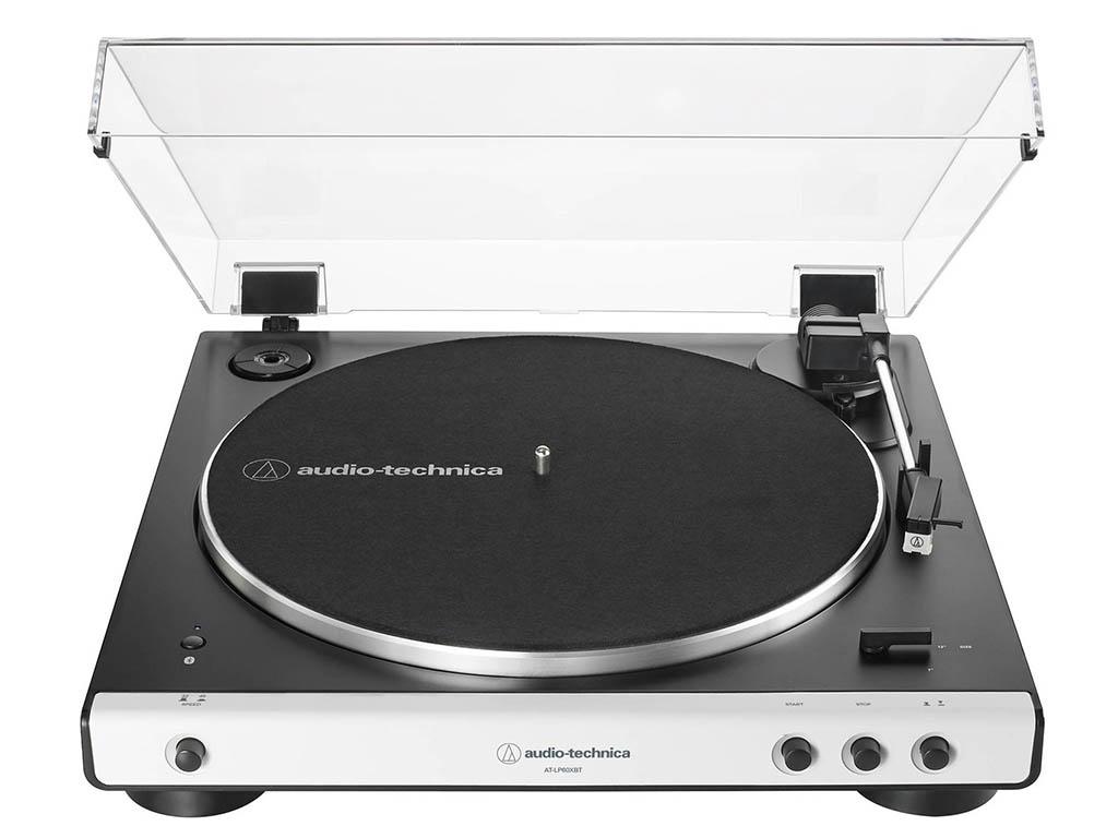 цена на Проигрыватель виниловых дисков Audio-Technica AT-LP60X White AT-LP60XBTWH