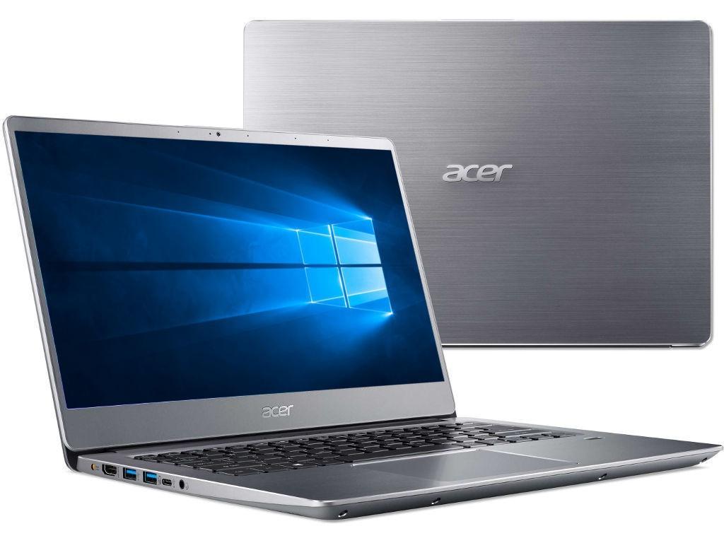 Ноутбук Acer Swift 3 SF314-54-83KU Silver NX.GXZER.016 (Intel Core i7-8550U 1.8 GHz/8192Mb/256Gb SSD/Intel HD Graphics/Wi-Fi/Bluetooth/Cam/14.0/1920x1080/Windows 10 Home 64-bit) цена