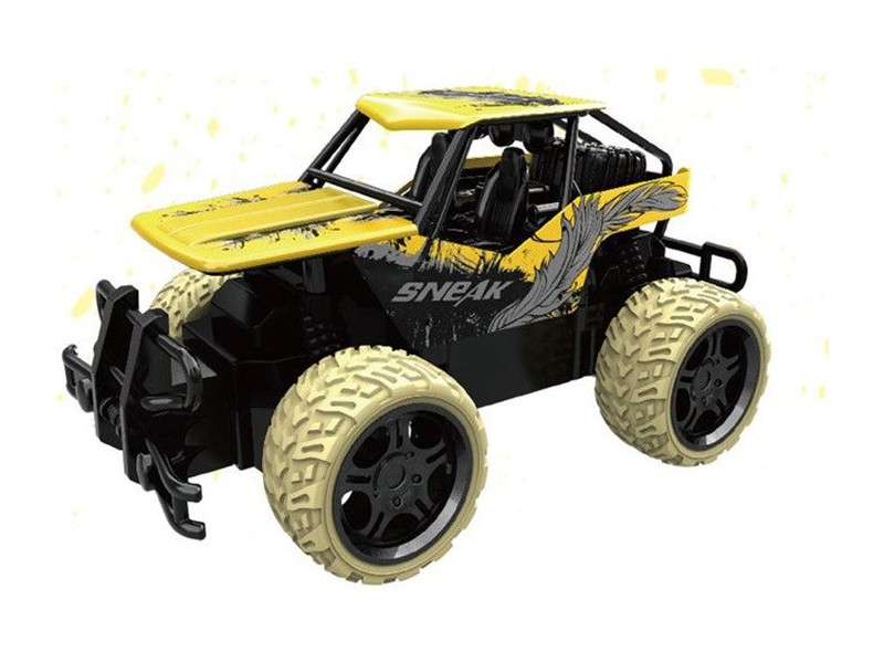 Игрушка Ujie Машина Off-Road Die-Cast 1:18 Yellow UJ99-Y183B