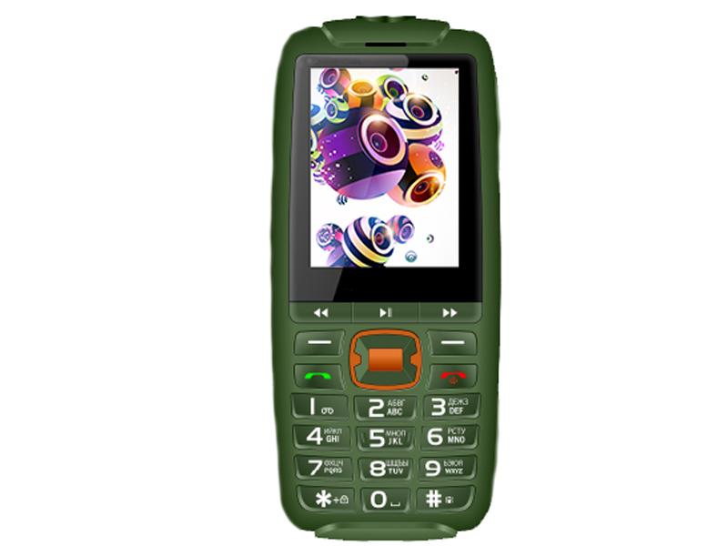 Сотовый телефон BQ 2825 Disco Boom Green