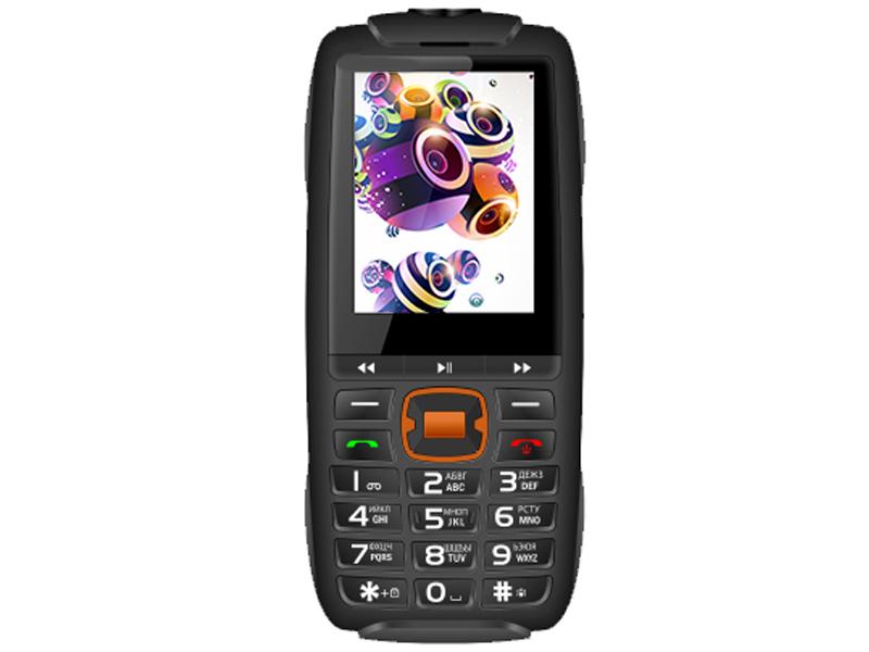 Сотовый телефон BQ 2825 Disco Boom Black сотовый телефон bq 2810 boom xl black