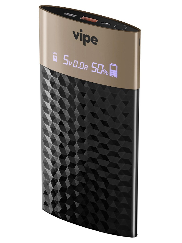 Аккумулятор Vipe Feniks 10000 mAh Black VPPBFENIKS10KBLK цена и фото