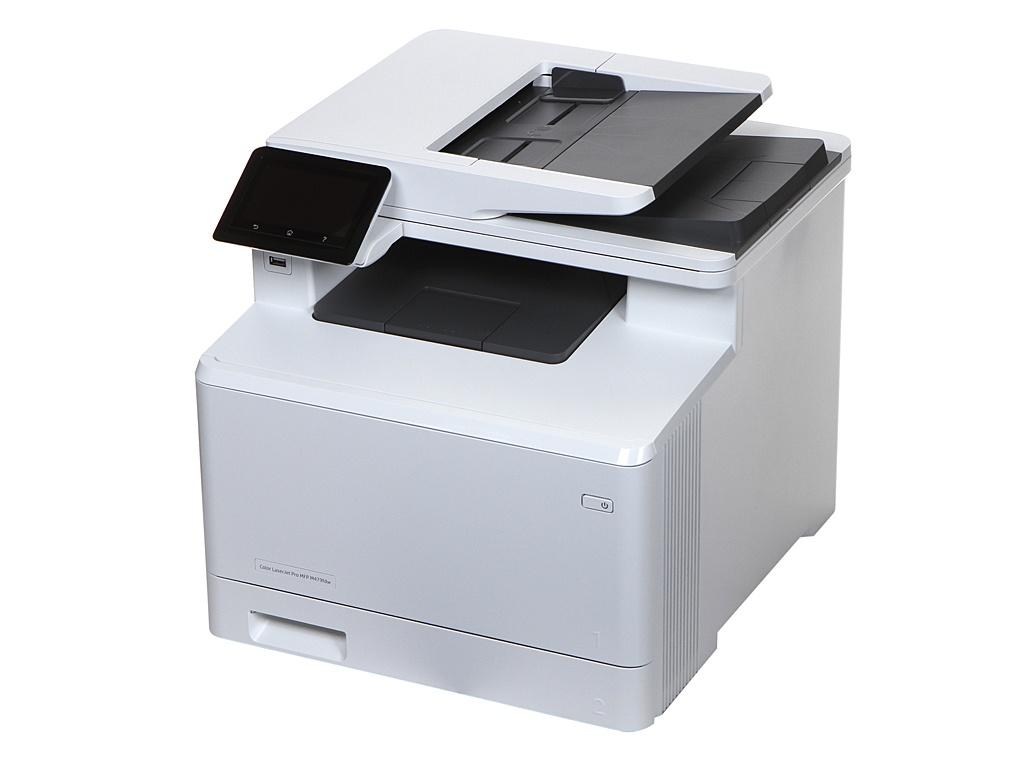 МФУ HP Color LaserJet Pro M479fdw W1A80A