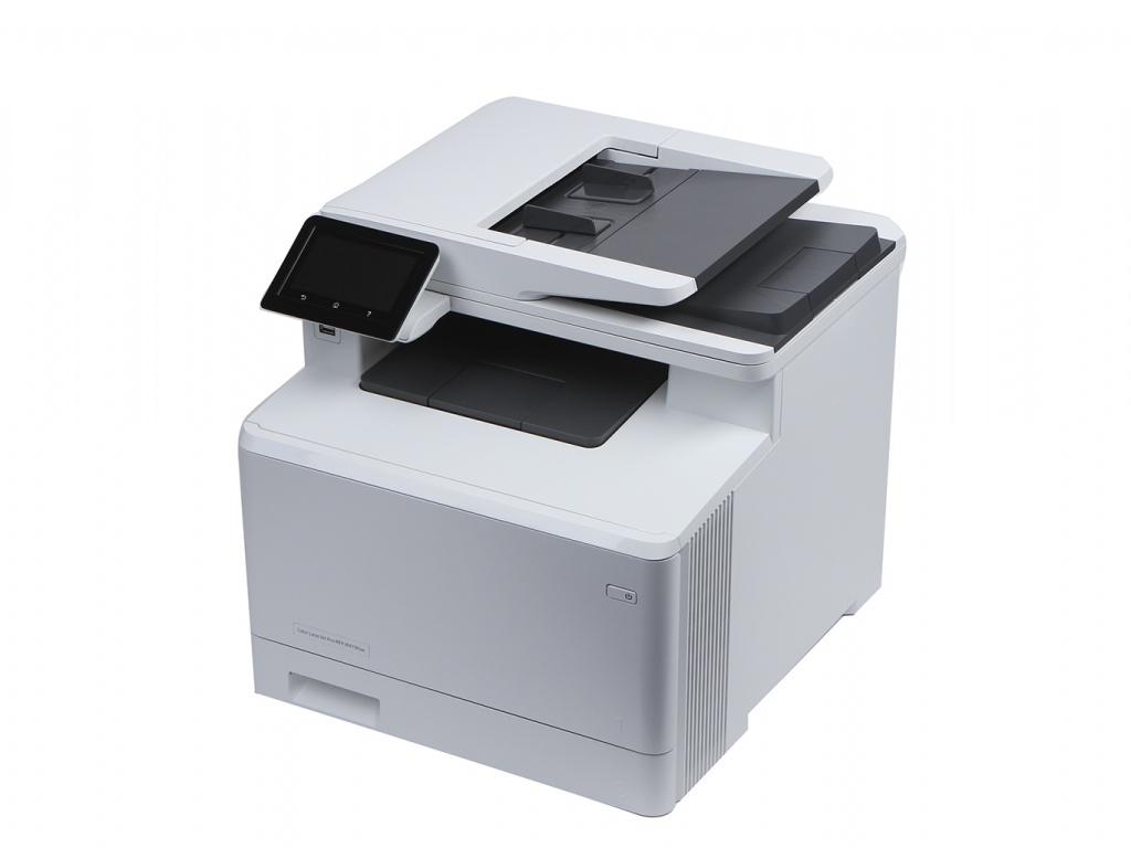 Фото - МФУ HP Color LaserJet Pro MFP M479fnw W1A78A мфу лазерный hp color laserjet pro m479fnw a4 цветной лазерный белый [w1a78a]