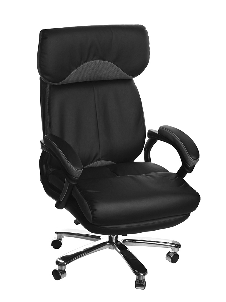 Компьютерное кресло TetChair Grand искусственная кожа, ткань Black-Grey 36-6/12 grand teton wreath 100wmwhtled 36