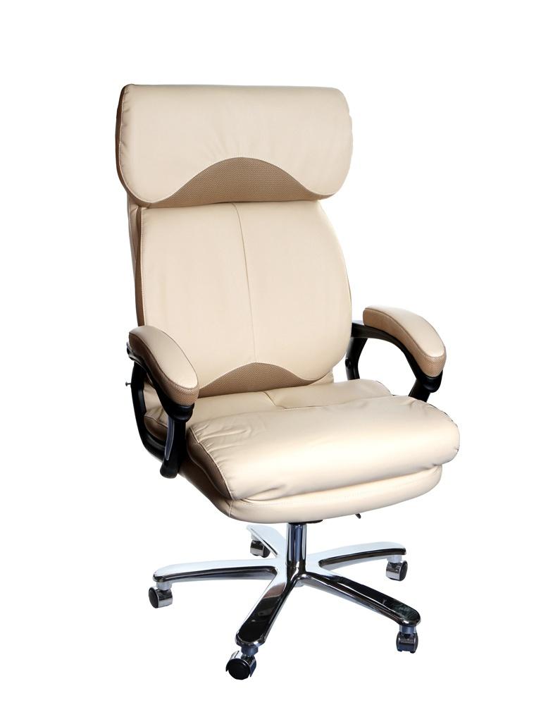 Компьютерное кресло TetChair Grand искусственная кожа, ткань Beige-Bronze 12391